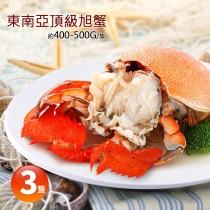 【築地一番鮮】東南亞頂級旭蟹3隻(約400-500g/隻)免運